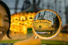 Takashi Kitajima's View of Tokyo Through a Magnifying Glass Magnifying Glass, Magazine Art, Bokeh, Photo S, Graffiti, Fine Art, Photography, Design, Distortion