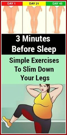 3 Minutes Before Sleep: Simple Exercises To Slim Down Your Legs - Fitness Tipps Fitness Workouts, Easy Workouts, At Home Workouts, Fitness Tips, Core Workouts, Workout Routines, Training Workouts, Workout Ideas, Bodybuilding Training