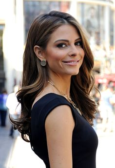 Maria Menounos -- she's on ET and DWTS... she's awesome!