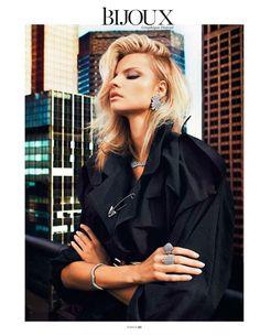 Magdalena Frackowiak - Vogue Paris February 2013