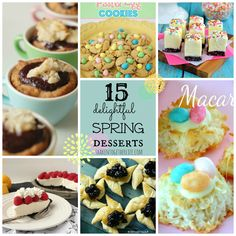 shaken together: 15 delightful Spring desserts ~ tasty features from the {whats shakin} link party