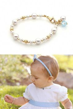 2a1c3fa42ff3 Dainty Pearls 14k Gold Bracelet. Adorable little 14k gold and real  AAA-grade pearl