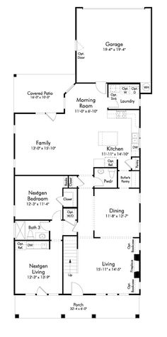 Out Of The Ordinary Ranch Floor Plan We Could Probably Do Without