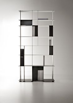 NIPPON, iron bookcase (2013) for DE CASTELLI (Cornuda, TV) by Alberto Nason | MAGAZEN NOVO