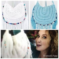 This video is about how to Create a Festival Crochet Boho HandBag using simple Crochet Techniques, step by step Tutorial, I hope you'll enjoy this Tutorial a...