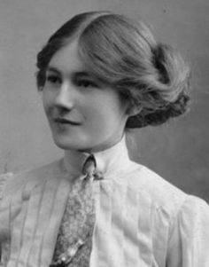 Unknown young Edwardian woman. I want to share a fabulous website. It has vintage TOC videos (great fun), detailed TOC fashion info, and links to YouTube videos that show you how to recreate Victorian and Edwardian hairstyles - without needing 3 feet of hair to work with. Check it out: http://doloresmonet.hubpages.com/hub/FashionHistoryEdwardianFashionTrends1890s1914