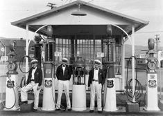 Lassen County History and Culture: Susanville Union Gas Station 1936