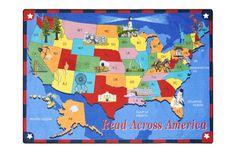Joy Carpets Read Across America - Kids Area Play Mat