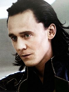 """Nice edit! Tom Hiddleston """"Loki"""" The Avengers From http://inlovewithacriminals.tumblr.com/post/146715985181/1"""