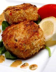 Best crab cake recipes  I will have to alter this a little so that I can eat it, but I may bring this, also.