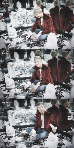 BTS 'WINGS' Jacket shooting and behind the scene.