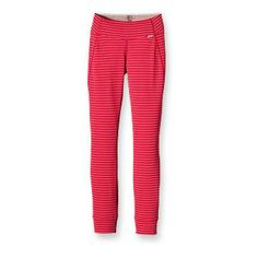 Patagonia Women's Capilene® 3 Midweight Bottoms Machine-wash cold, tumble dry at low temperature 5.4-oz (183-g) Polartec® Power Dry® 100% polyester: solids, 65% recycled; heathers, 51% recycled; stripes, 56% recycled double knit, with Polygiene® permanent odor control. Fabric is bluesign® approved 172 g (6.1 oz)