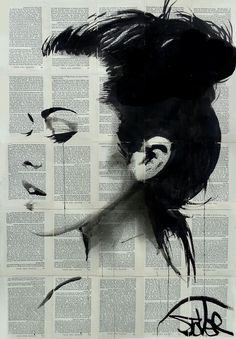 Loui Jover 1967 Vintage Black and White