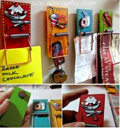 Mouse Trap Fridge Magnets