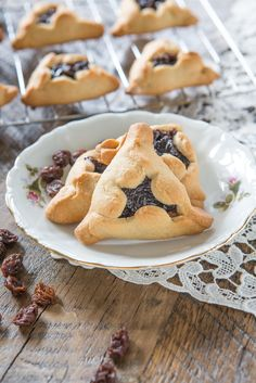 Paleo Hamantaschen Cookies for Purim! #paleo