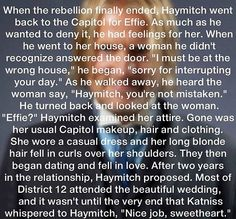 . #Haymitch I knew that is what happened. lol #hungergames #mockingjay