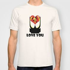 """Eye Love You"" T-shirt for Valentine's Day on Society6."