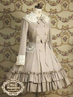 so beautiful, very Victorian Kawaii Fashion, Lolita Fashion, Cute Fashion, Girl Fashion, Vintage Fashion, Fashion Outfits, Fashion Design, Pretty Outfits, Pretty Dresses