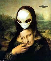 alien Mona Lisa