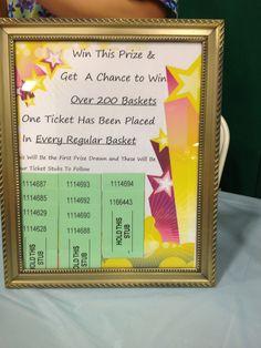 tricky tray prize