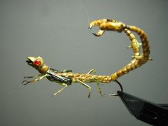 """Monster"" from my friend Graham Owen who has teatch me a lot about realistic fly tying."