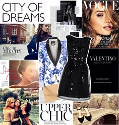 """Streets of NYC"" by fashionjunkie100 ❤ liked on Polyvore"