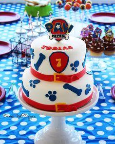 Emmas KakeDesign: Paw Patrol Birthday party! www.emmaskakedesign.blogspot.com