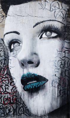 Street Art by Rone - Melbourne Australia #streetart♥≻★≺♥