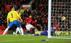Wayne Rooney's 1st goal against Southampton, from Shanji Kagawa assist.