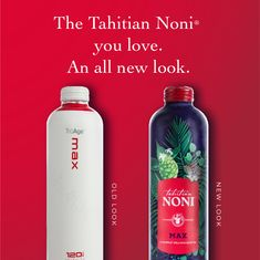 If you thought something was a little different about us … you're right — we got a makeover! Don't worry — we didn't make any changes to the product formulation that you know and love! The only difference you'll notice is how it looks, not how it tastes. Our Tahitian Noni ORIGINAL is still just as pure and powerful as it was when we created it in 1996. Tahitian Noni, New Look, Pure Products