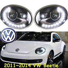 506.00$  Watch here - http://aliqrt.worldwells.pw/go.php?t=32722082134 - Beetle headlight,2011~2015(Fit for LHD,RHD need add 200USD),Free ship!Beetle fog light,2ps/se+2pcs Aozoom Ballast,touareg,Beetle