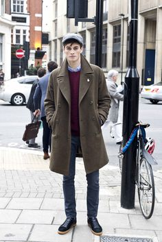 #ManAboutTown Credit: Thomas Betts