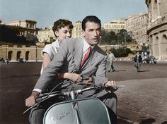 Filmographie non exhaustive de la Vespa, symbole de la douceur de vivre à l'italienne, à l'occasion du70e anniversaire du mythique deux-roues, célébré ce 23 avril.
