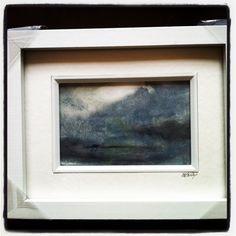 Brighton festival 2014..seastat sketch..oil on paper by Zoe Bailey