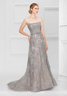 Ivonne D. 117D64 Blue Mother Of The Bride Dress