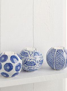 L'esprit artisanal japonais des motifs tracés à l'encre bleue sur de jolis…