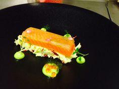@_Jack_Rawlings_ - Cured sea trout, lemon & dill jelly, Apple & radish slaw with a dill mayonaise #FeedYourEyes July/Aug