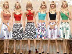 #Sims4 | melisa inci's Colorful Summer Set