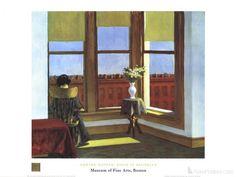 Edward Hopper- Room in Brooklyn