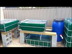 Aquaponics introduction video. Good Video showing components and plumbing of a basic AQ system