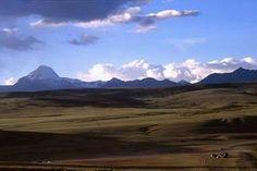 Monte Kailas visto do lago Manarasovar, Tibete