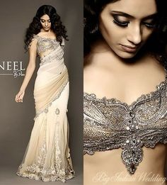 Pam Mehta: Indian wedding gown just in case the future husband is indian