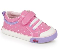 See Kai Run Kristin Hot Pink Sneaker
