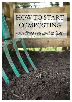 Scared to try composting? We've compiled all of the information you need to know to get started. It's a little daunting at first, but trust me, it soon becomes second nature and in one year, your garden will be thanking you with a Garden Compost, Garden Pests, Garden Tools, Herbs Garden, Garden Ideas, Garden Fertilizers, Gardening For Beginners, Gardening Tips, Kitchen Gardening
