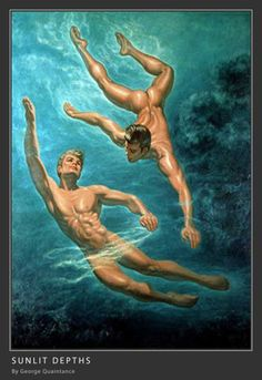 """George Quaintance (June 3, 1902 - November 8, 1957) was a gay American artist, famous for his """"idealized, strongly homoerotic"""" depictions of men in mid-20th-century physique magazines. Using historical settings to justify the nudity or distance the subjects from modern society, his art featured idealized muscular, semi-nude or nude male figures; Wild West settings were a common motif. His artwork helped establish the stereotype of the """"macho stud"""" who was also homosexual, l..."""
