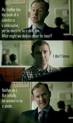 Mycroft & Watson