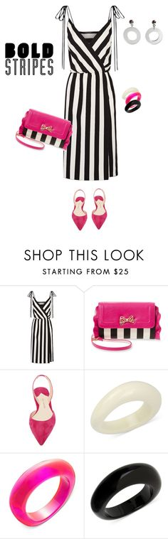 """""""outfit 3725"""" by natalyag ❤ liked on Polyvore featuring Marc Jacobs, Betsey Johnson, Paul Andrew and INC International Concepts"""