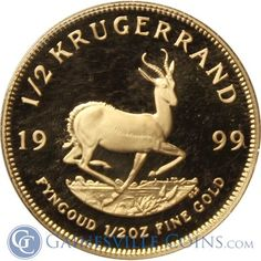 First Minted in The Krugerrand Coin Is A Significant Part Of South Africa's History. Buy The 1999 oz Proof Gold Krugerrand. Gold Krugerrand, Gold And Silver Coins, Gold Bullion, African, Box, Stuff To Buy, Money, Boxes