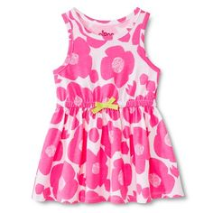Toddler Girls' Floral Sun Dress - Pink