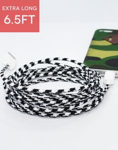 XL Lightning Greyscale Collective Cable